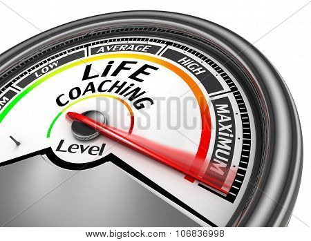 Life Coaching Level To Maximum Conceptual Meter