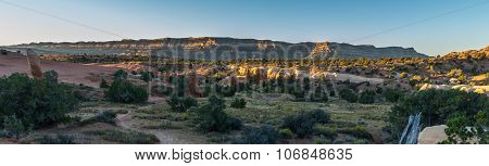 Devils Garden Escalante At Sunrise