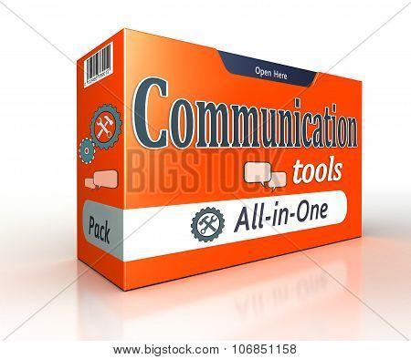 Communication Tools Orange Pack Concept