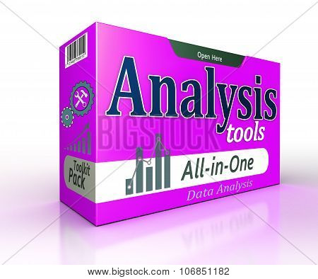 Data Analysis Tools Pack Concept