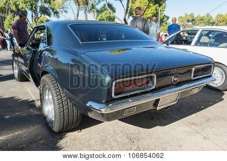 Chevrolet Camaro Ss On Display