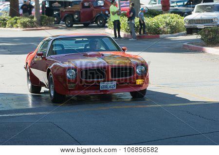 Pontiac Trans Am On Display