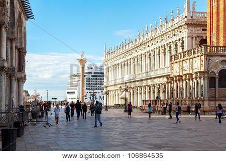 Venice. Saint Mark's Square.