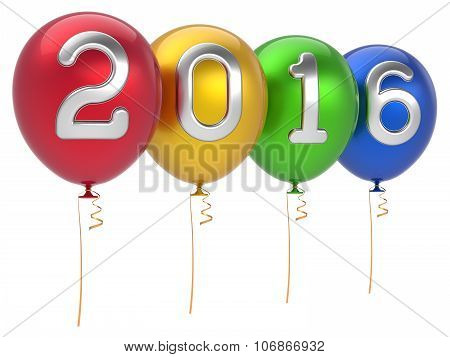 Happy New Year 2016 Party Balloons Christmas Decoration