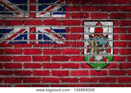 Dark Brick Wall - Bermuda