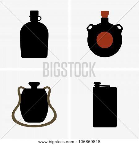 Water flasks