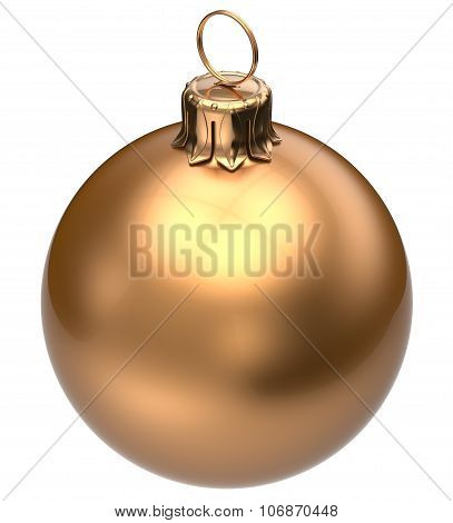 Christmas Ball Golden New Year's Eve Bauble Decoration