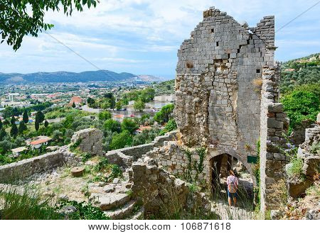 Ruins Of The Church Of St. Catherine, Old Bar, Montenegro