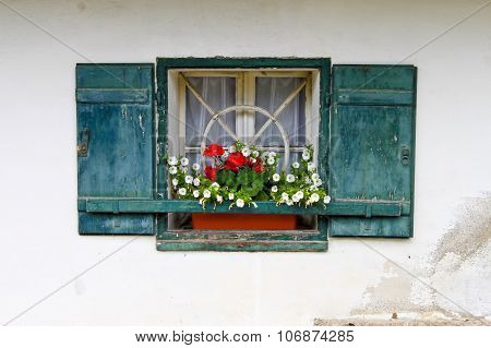 Window Of A Country House