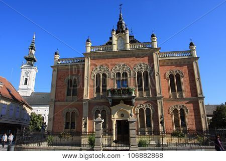 Vladicin Court, Palace Of The Bishop In Novi Sad, Serbia