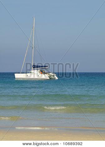 Catamaran In Morro Jable