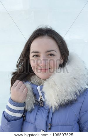 Girl In A Blue Jacket