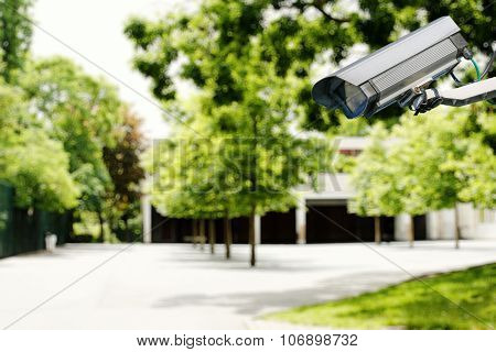 Security Camera And Safety In A School