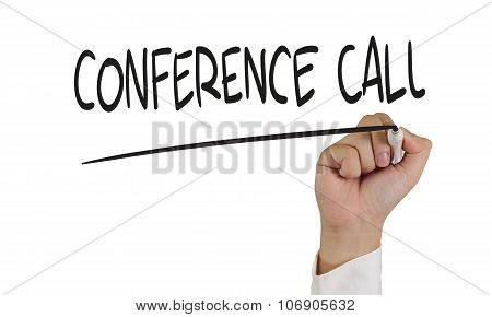 Conference Call Concept
