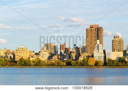 Upper East Side During The Fall Season
