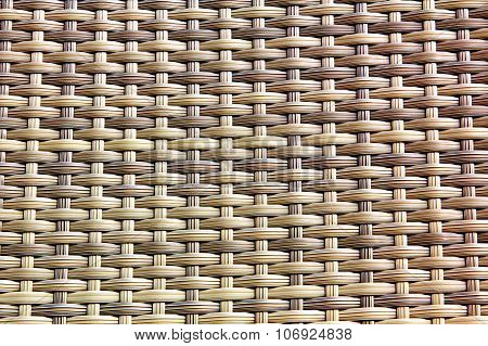 Weaved Texture As Abstract Background.