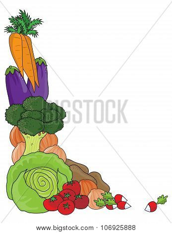 Vegetable Border