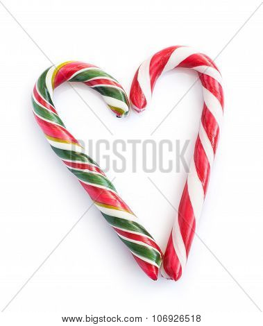 Christmas Candy Heart