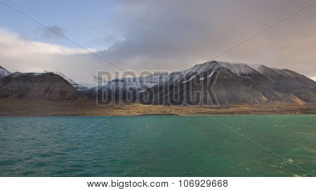 Billefjorden In Svalbard