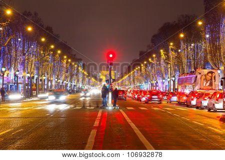 Paris. Champs Elysees.