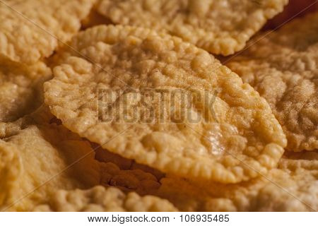 Close-up Of Corn Flake
