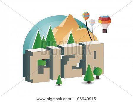 Giza, beautiful destination to visit