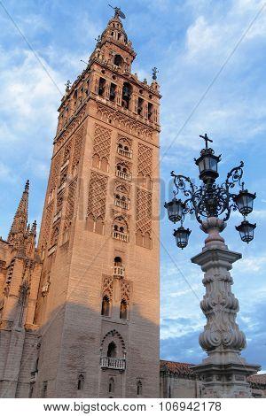 Giralda Tower In The Morning Light