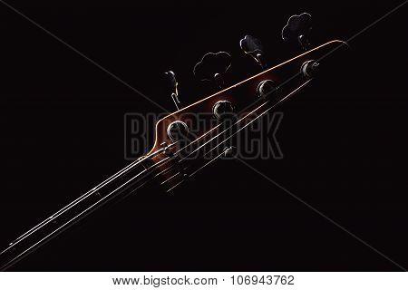 Part Of A Jazz Bass Guitar