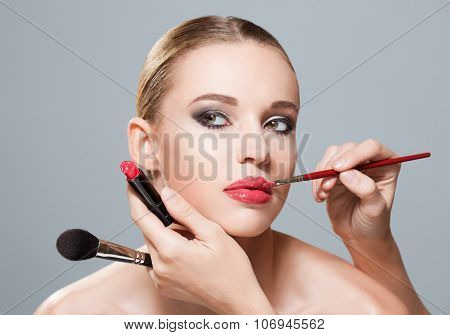 Makeup Beauty.