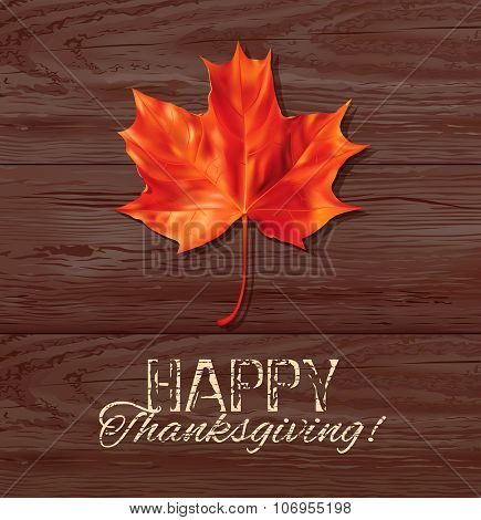 Thanksgiving Day background. Vector illustration.