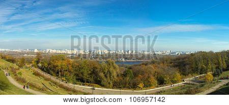 autumn in Kiev, Ukraine