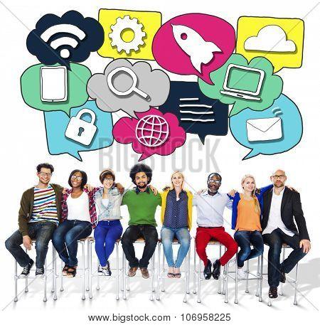 Media Communication Technology Latest Modern Concept