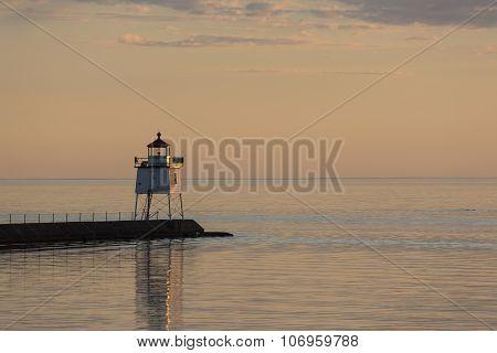 Two Harbors Breakwater Lighthouse