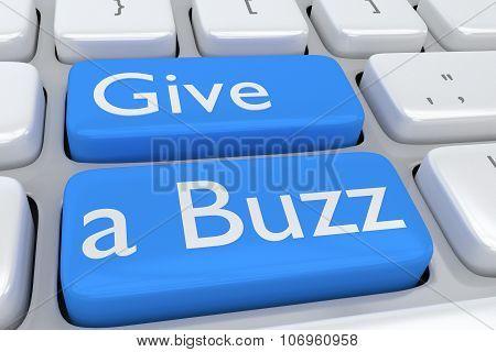 Give A Buzz Concept