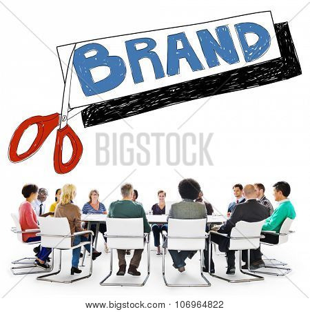 Brand Advertising Commerce Copyright Marketing Concept