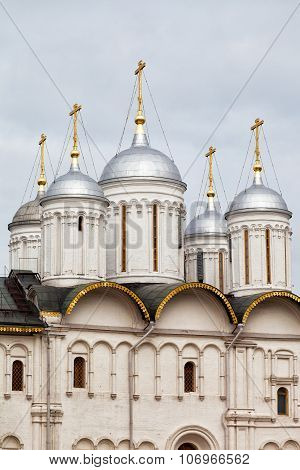 Church Of The Twelve Apostles On The Cathedral Square Of The Moscow Kremlin