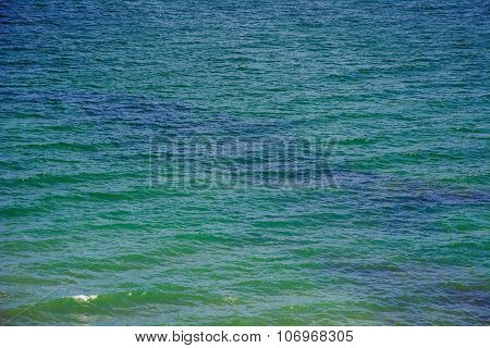 Surface Of Black Sea