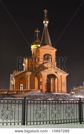 Piously-Vvedensky church, Dudinka