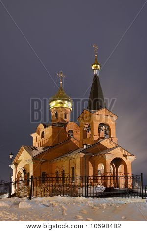 Piously-Vvedensky church, Dudinka, Tajmyr
