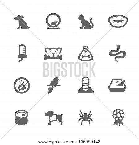 Simple Pets Icons