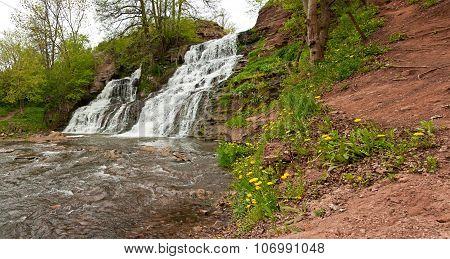 Waterfall - Dzhurinskiy Falls
