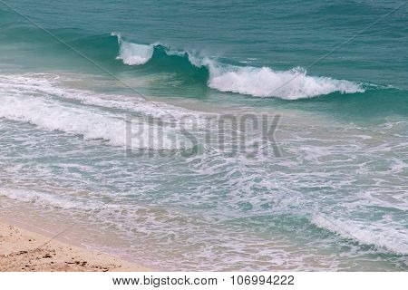 Big Waves In Caribbean Sea