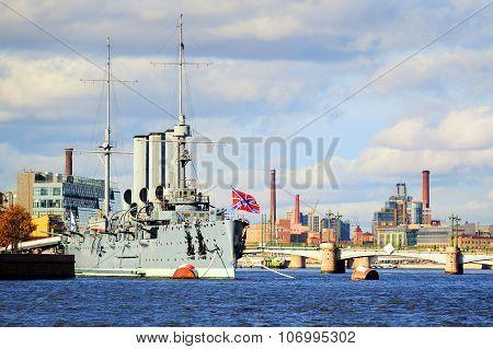 Aurora Cruiser, St Petersburg, Russia