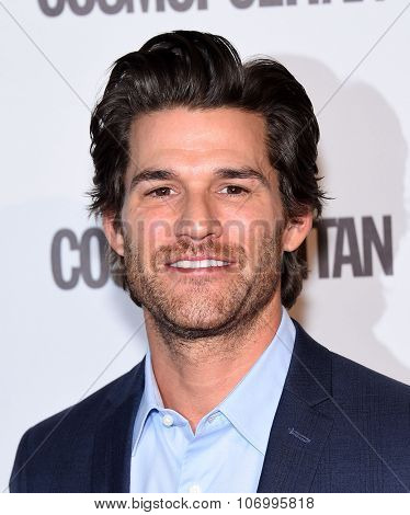LOS ANGELES - OCT 13:  Johnny Whitworth arrives to the Cosmopolitan's 50th Birthday Party on October 13, 2015 in Hollywood, CA.