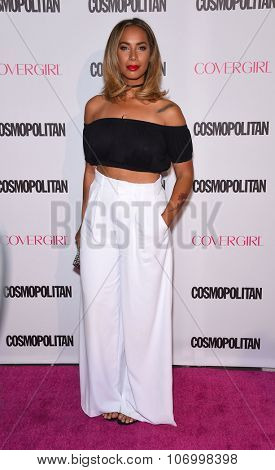 LOS ANGELES - OCT 13:  Leona Lewis arrives to the Cosmopolitan's 50th Birthday Party on October 13, 2015 in Hollywood, CA.