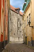 image of aida  - Medieval street in Old Tallinn  - JPG