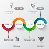 Infographic design template and marketing icons. poster