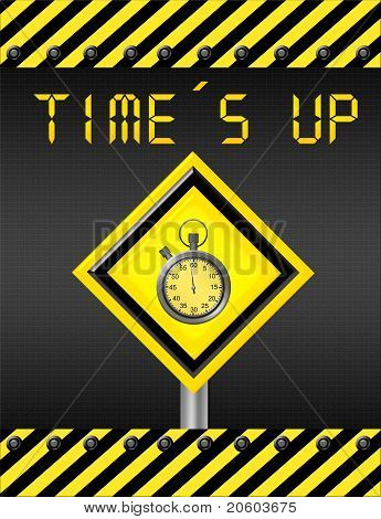 Time Is Up Signal