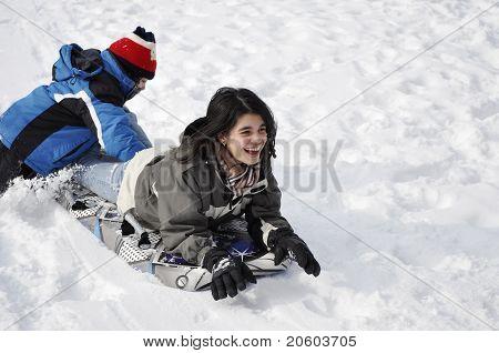 Untold Spaß im Schnee