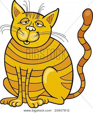 Happy Yellow Cat